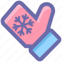 .svg, christmas, christmas glove, cold, glove, hand glove, snow flake icon