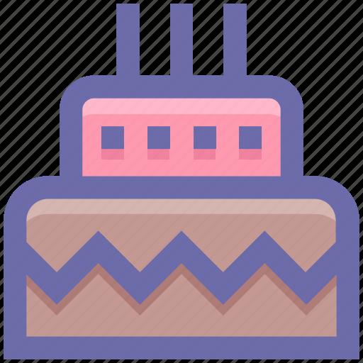 .svg, birthday, birthday cake, cake, celebration, party, sweet icon
