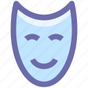 .svg, anonymous, entertainment, face, happy, leisure, mask icon