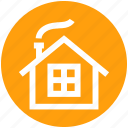 .svg, cabin, christmas, holiday, home, house, winter icon