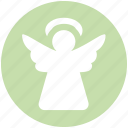 .svg, angel, christmas, christmas angel, cupid, decoration, holiday icon