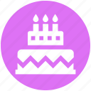 .svg, birthday, birthday cake, cake, celebration, party, sweet icon