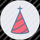 cap, xmas, birthday cap, hat, christmas, celebration icon