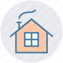 winter, house, home, holiday, christmas, cabin icon