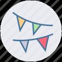 decoration, party, popper, christmas, celebration icon