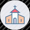 building, christian, church, easter, christmas, celebration icon