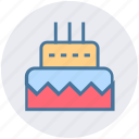 birthday, birthday cake, cake, celebration, party, sweet icon