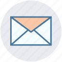 mail, message, envelope, email, letter icon
