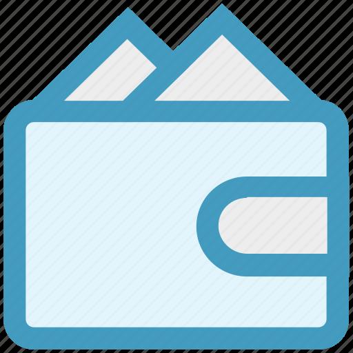 cash, credit wallet, money, purchase, purse, wallet icon
