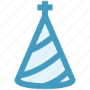 birthday cap, cap, celebration, christmas, hat, xmas icon