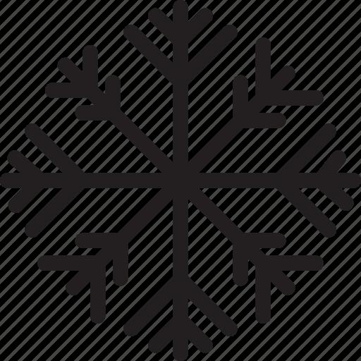 christmas, festival, holiday, snowflake icon