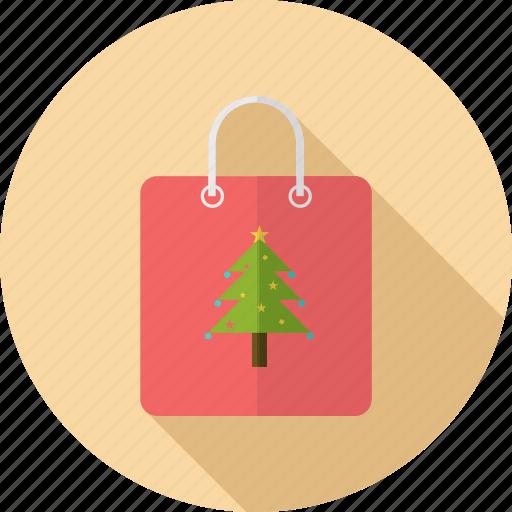 bag, christmas, fashion, shopping icon