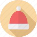 christmas, hat, holidays, santa icon