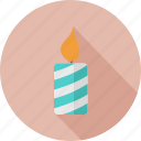candle, christmas, holidays icon