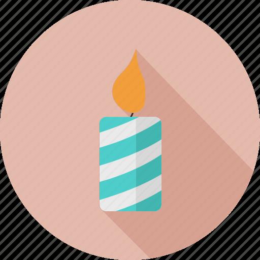 candle, christmas, holidays icon