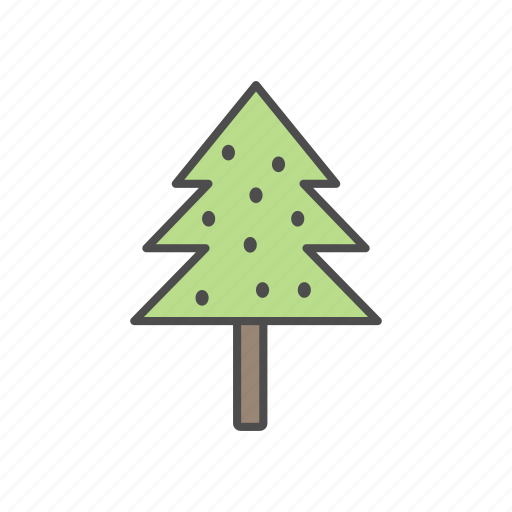 christmas, decoration, festival, gift, tree icon