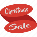celebration, christmas, christmas ribbon, christmas sale, decoration, sale icon