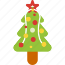 christmas, christmas tree, decoration, holiday, new year, tree icon