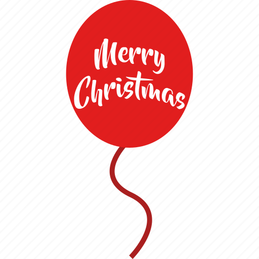 balloons, christmas, decoration, merry christmas, party, wishes icon