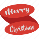 celebration, christmas, christmas ribbon, decoration icon