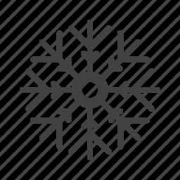 cloud, design, flower, snowflake icon
