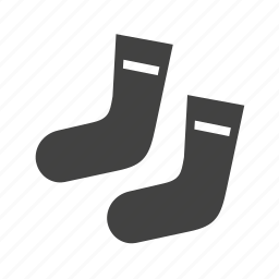 cold, foot, socks, winter icon