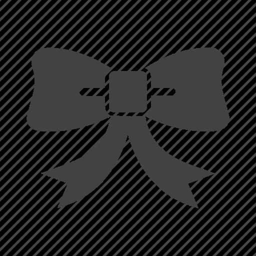 bow, decorations, ribbon, waiter icon
