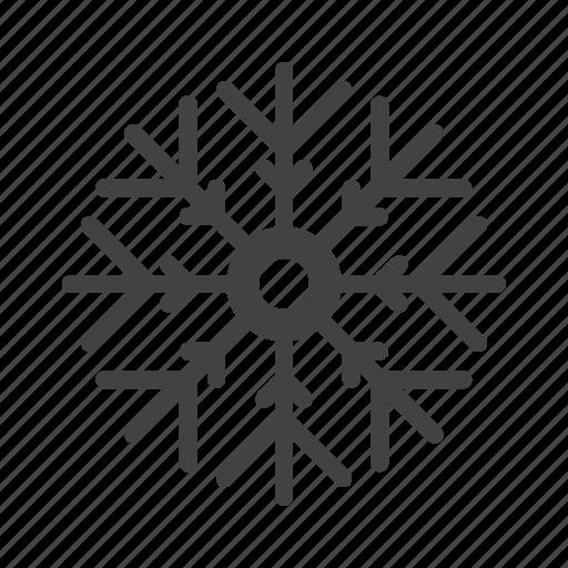 cloud, decor, flower, snowflake icon