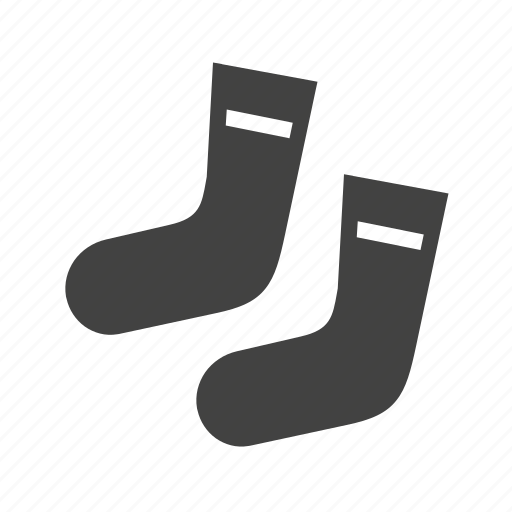cold, foots, socks, winter icon