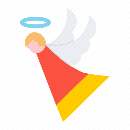 angel, christmas, fairy, holy, new year, spirit icon