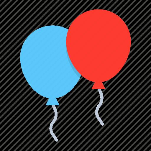 balloon, celebration, children, festival, kids icon
