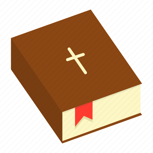 bible, book, christ, christianity, cross, holy, religion icon