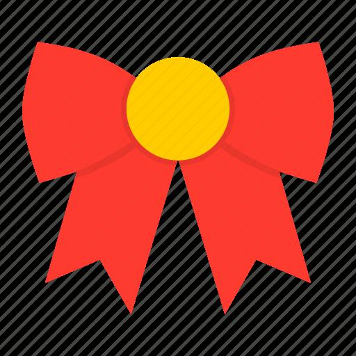 bow, christmas, clothing, dress, new year, santa, tie icon