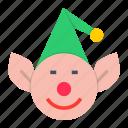 christmas, elf, santa, xmas, gift