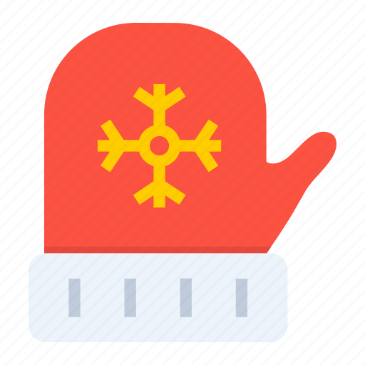 christmas, cold, gloves, winter, xmas icon