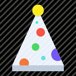 cap, christmas, clown, fun, merry, party, xmas icon