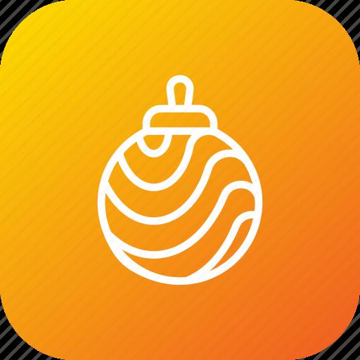 ball, bells, christmas, decorationlight, elements, holiday, light icon