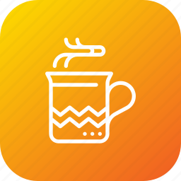 chocolate, christmas, coffee, cup, drink, mug, xmas icon