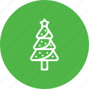 christmas, decoration, holiday, pine, star, tree, xmas icon