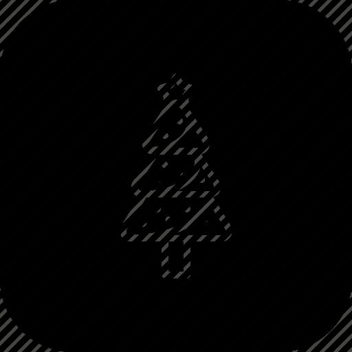 christmas, decoration, pine, pinetree, star, tree, xmas icon