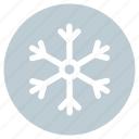 christmas, snow, snow flake icon