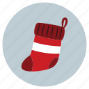 christmas, sock, socks icon