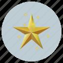 christmas, stars icon
