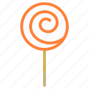 candy, lollipop, lolly, sucker icon