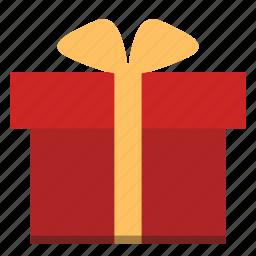 birthday, box, gift, gift box icon