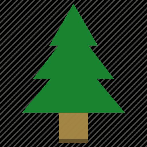 christmas tree, plant, tree icon