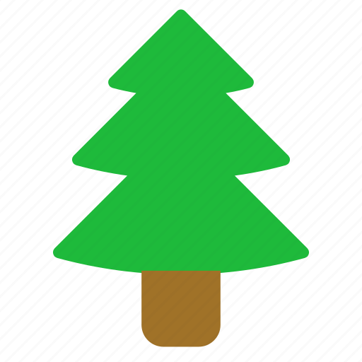 christmas, christmas tree, plant, tree icon