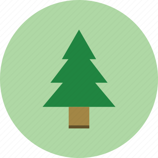 christmas, forest, plant, tree icon