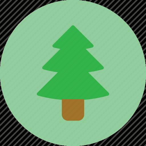 christmas, christmas tree, tree, winter icon