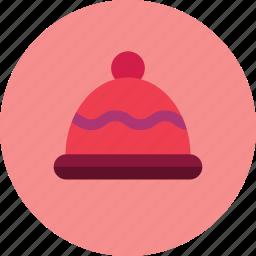 cap, christmas, hat, winter icon